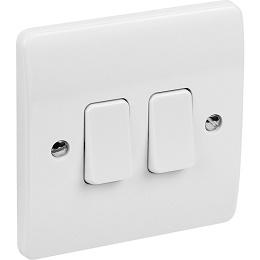 MK Light Switch 2 Gang