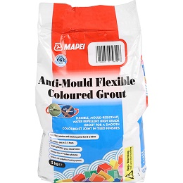 Mapei Anti Mould Tile Grout 5kg Ivory