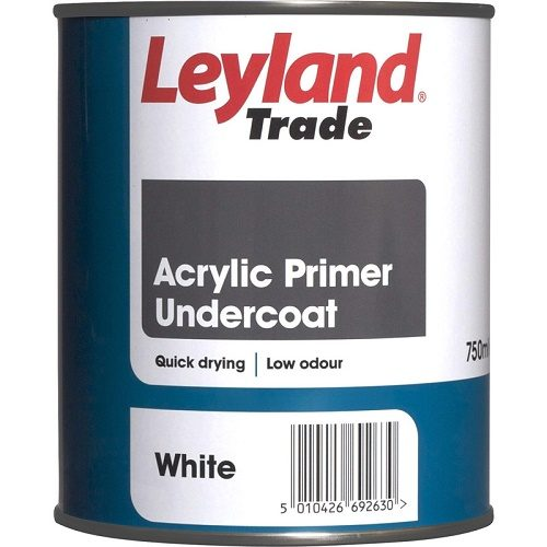 leyland acrylic primer Undercoat 750ml
